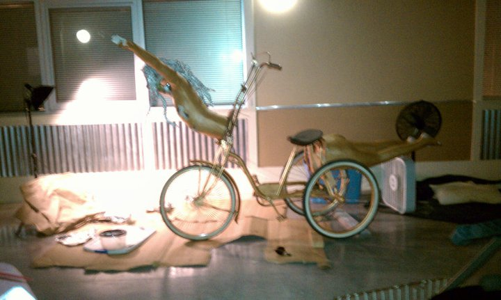 Katrina Art Bike.  Created for New Orleans Carnival and beyond.