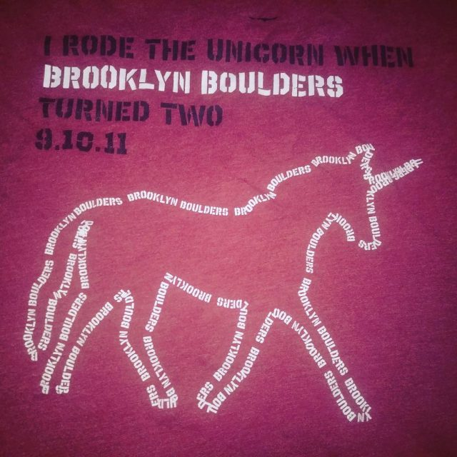 That time our unicorn artbike made it to brooklyn arthellip