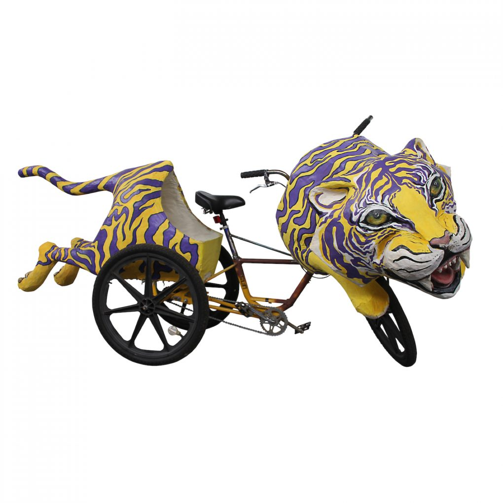 Tiger Art Bike